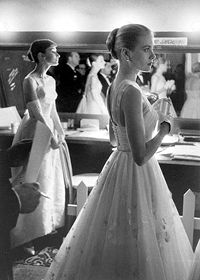 Grace Kelly and Audrey Hepburn....wow! And Grace was wearing her signature gloves.