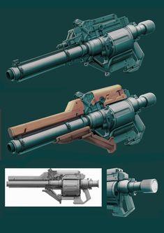 Snub Cannon, John Davidson on ArtStation at https://www.artstation.com/artwork/0zbZw