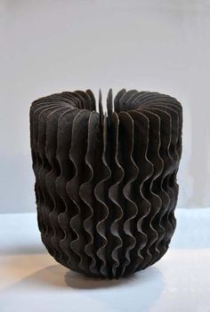 Untitled by British ceramic artist Ursula Morley-Price (b 1936). Stoneware. via diaph.fr