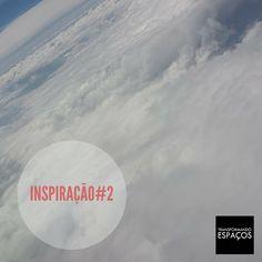 Transformando Espaços - Dicas de Organização: Inspiração # 2 - nuvens no céu azul