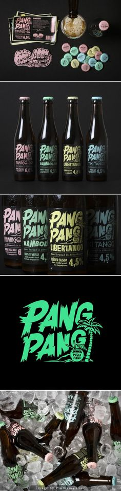Pang Pang, would you drink beer in pastel packaging? curated by Packaging Diva PD created via http://www.creativebloq.com/branding/pastel-packaging-new-beer-packs-punch-101413223