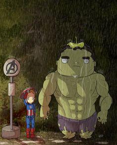meu amigo Hulk