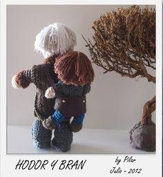 #Hodor #Bran #amigurumi #gameofthrones