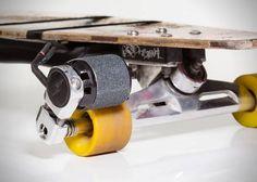 Kickr: Electric Longboard Motor | HiConsumption