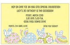 #Easter Bunny Invitation