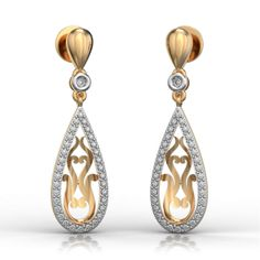 Best Online Diamond Jewellery store in India. Buy Earrings, Gold Earrings, Diamonds And Gold, Random, Stuff To Buy, Shopping, Jewelry, Gold Stud Earrings, Jewellery Making