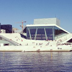 Oslo Opera House, Oslo, Norway - An awesome piece of architecture to see and experience, walk around on and see the building and city from different angles.