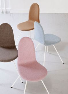 The Tongue Chair by Arne Jacobsen relaunched by Howe