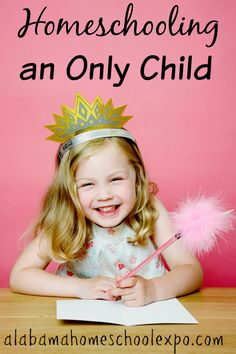 Just because homeschooling an only child is not common doesn't mean that it is not possible. In fact there are advantages to homeschooling an only child.