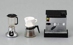 Megahouse Miniature Little Cafe Coffee Maker Set