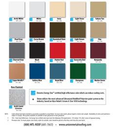 Most Popular Metal Roof Color Roof Replacement Metal