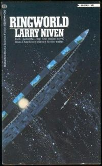 Ringworld – Larry Niven - greatest science fiction novel of all time Fantasy Book Covers, Book Cover Art, Fantasy Books, Fantasy Art, Science Fiction Romane, Science Fiction Kunst, Science Art, Life Science, Roseanne Barr