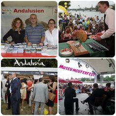 Andalucía promociona el destino en el Festival Museumsuferfest de Frankfurt!