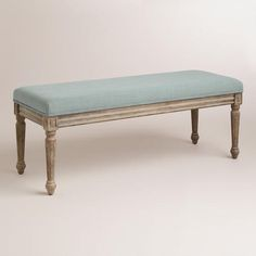 Paige Bench at Cost Plus World Market >> #WorldMarket Bed Makeover, Home Decor, Tips & Tricks