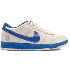 Special Nike SB Dunk Low Pro Medicom I White Blue Shoes