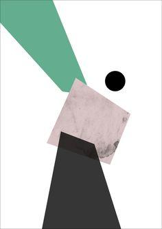 Illustrations by Kathrine Iversen, via Behance
