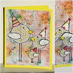 patouille- recyclage papier - oiseaux