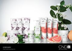 Introducing NEW CND™ Spa! Escape on a journey of relaxation. Our botanical spa collection delivers a new level of treatment benefits for beautiful results. Inspired by nature. Rooted in Science. Available worldwide March 1st!