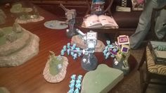 Custom Knight titan cast in Resin Kasrkin/Scion Vs. Space Marines Custom Chapter