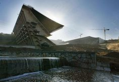 Estádio Municipal de Braga Portugal | Eduardo Souto de Moura | Photo : Francois Xavier Marit