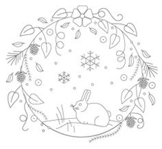 Seasonal Wreaths Pattern Pack for Stumpwork and Surface Embroidery Saisonale Mandalas Stickerei Muster Pack von Theflossbox auf Etsy Crewel Embroidery Kits, Embroidery Needles, Hand Embroidery Patterns, Vintage Embroidery, Cross Stitch Embroidery, Machine Embroidery, Embroidery Tools, Lazy Daisy Stitch, Christmas Embroidery