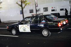 Fake police car!