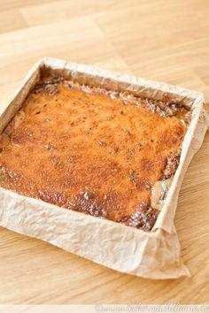Cremig, karamellig, schokoladig.... Die Dulce-de-leche-Schokohappen sind köstlich und verschwinden mit einem kleinen Happs im Mund.