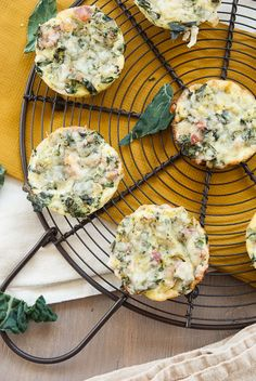 RED Russian Kale and Broccoli Mini Crustless  Quiches   Good Life Eats Bridge of Spies