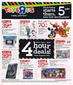 "Toys ""R"" Us Black Friday Ad 2014"