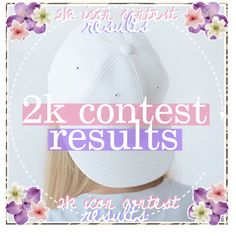 2k icon contest results by pinkcupcake14 on Polyvore featuring polyvore, art and pinkicons
