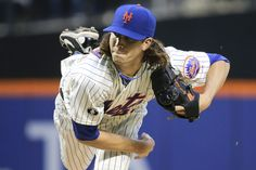 Jacob deGrom throws gem for Mets in MLB debut
