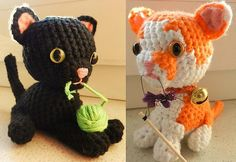 Ravelry: Project Gallery for Basic Kitty pattern by Beth Ann Webber