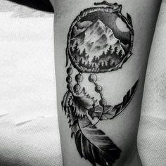 Indian Dreamcatcher Tattoo