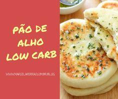 Pão de alho na frigideira (Fit) | Marcela Ferrão