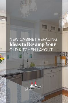 Ever thought of repurposing your cabinets for your reno project? It's updates like this that will change how you operate in the kitchen, making cooking easier or simply spending time more enjoyable. Learn more here: Classic Kitchen Cabinets, Distressed Kitchen Cabinets, Contemporary Kitchen Cabinets, Kitchen Cabinet Styles, Old Kitchen, Kitchen Layout, Kitchen Design, Cabinet Refacing, New Cabinet