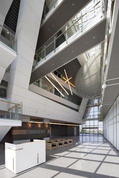 The Porter School of Environmental Studies by Geotectura + Chen Architects + Axelrod Grobman Architects | Tel Aviv University, Tel Aviv, 6997801, Israel