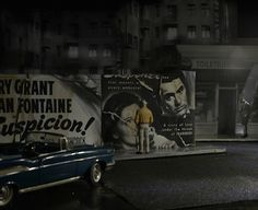Sitting in the Dark with Strangers: Miniature model scenes capture the romance of movies | Dangerous Minds