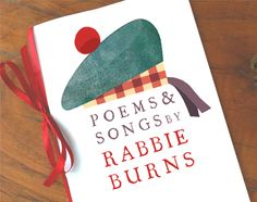 Rabbie Burns printable poem book.  Burns Night https://happythought.co.uk/party-fiesta/celebrate-burns-night-companion-guide#