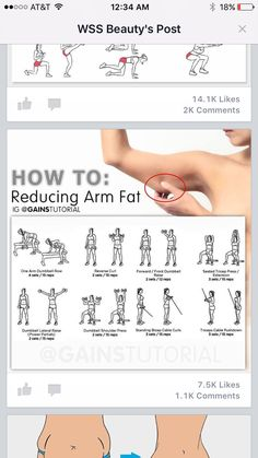 How To Reduce ARM Fat Exercises # fat # arms # workout # women … - Ketogenic Diet Fitness Workouts, Fitness Motivation, At Home Workouts, Workouts For Arms, Thigh Workouts, Gym Machine Workouts, Workouts For Women, Back Fat Exercises At Home, Inner Leg Workouts