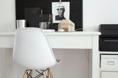 Home Office Inspiration Home Office, Office Desk, Small Workspace, Inside Home, Home Decor Styles, Decoration, Interior Design, Architecture, Inspiration