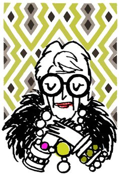 more is more, and less is a bore (iris apfel)