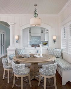 ideas banquette seating dining room banquet kitchen nook for 2019 Dining Nook, Dining Room Design, Built In Dining Room Seating, Kitchen Nook Bench, Banquette Seating In Kitchen, Wall Seating, Floor Seating, Kitchen Chairs, Kitchen With Dining Room