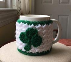 Coffee Mug Cozy/ Tea Mug Cozy/ Crochet by HaniasCreations on Etsy