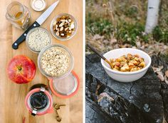Campfire Apple Crisp Breakfast by Faring Well #vegan #recipe