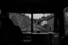 #Zahnradbahn ----- #Königswinter #Drachenfelsbahn #Germany #Bonn #photography #train #bw #sw #blackandwhite #sonyrx100m4 #sony #riggenbach #beautiful #fun #amazing