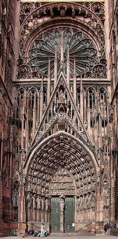 Cathedrale de Strasbourg, FRANCIA