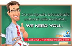 Are you dynamic, independently motivated MATHS specialist ..... WE NEED YOU Visit us : http://www.gotedu.co.uk/