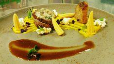 Lammhufte Sous Vide mit Pilzkruste/Gebackene Lamm /Dreielrei von Mais/ Tacos, Mexican, Ethnic Recipes, Food, Lamb, Fungi, Backen, Meal, Essen