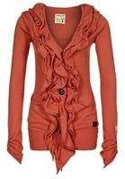 khujo HOLLYHOOK - Cardigan - orange - Zalando.co.uk