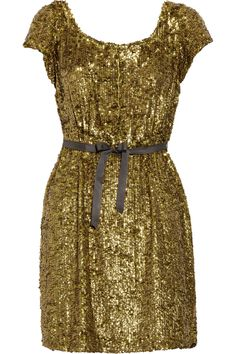 I can't even sort of, kind of afford this. But it's so pretty! $600 #sequins #dress #fashion